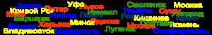 Расчёт расстояний между населенными пунктами - Междугороднее такси TUR